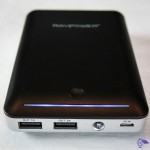 RP-PB13 RAVPower® 14000mAh External power bank LED indicator, USB output jack and micro-USB input