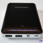 RP-PB13 RAVPower® 14000mAh External power bank LED indicator, USB output jack and micro-USB input