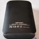 Technical specification of the backup battery 9000mAh TeckNet IEP390 used as UPS on Raspberry Pi