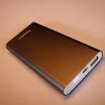 EasyACC external charger 8200mAh Li-polymer aluminum