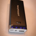 External battery charging RAVpower luster and charge indicator, RP-PB17