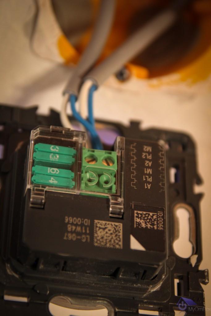 configuration par cavalier des interrupteurs de lumière intelligent myhome 067556